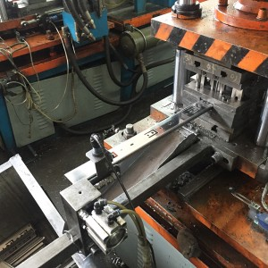 Ball bearing slides punching & cut