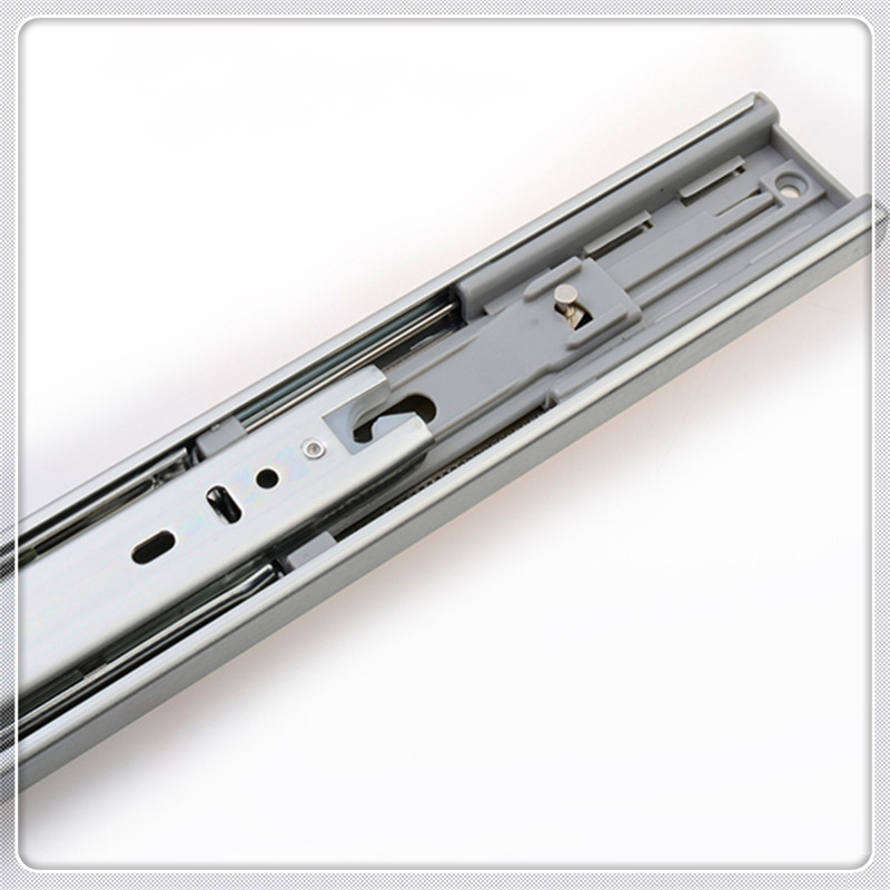 automatic hydraulic soft close drawer slides