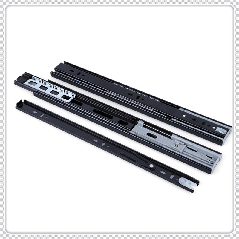 hydraulic soft close drawer slides