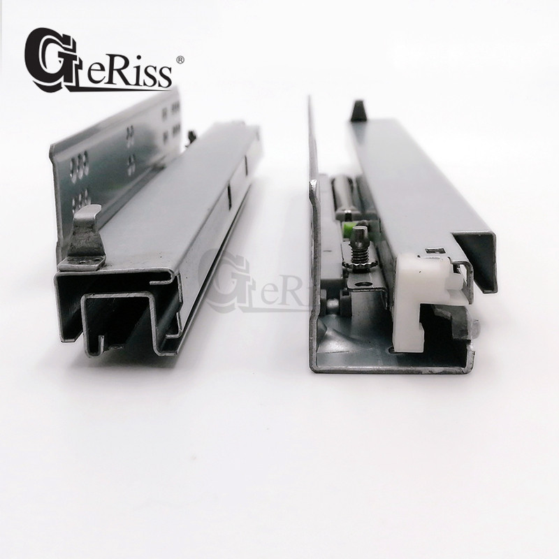 telescopic channel undermount drawer slides