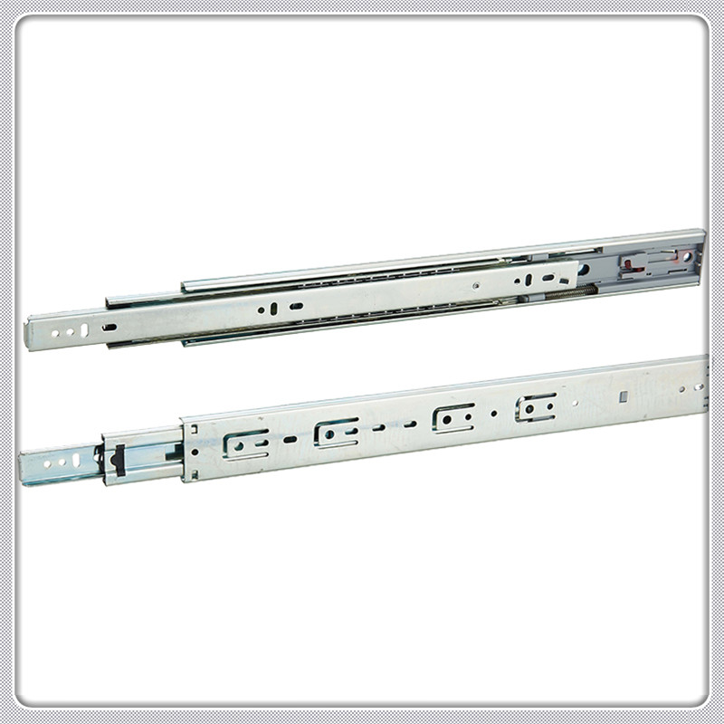 w45 full extention soft closing ball bearing drawer slide